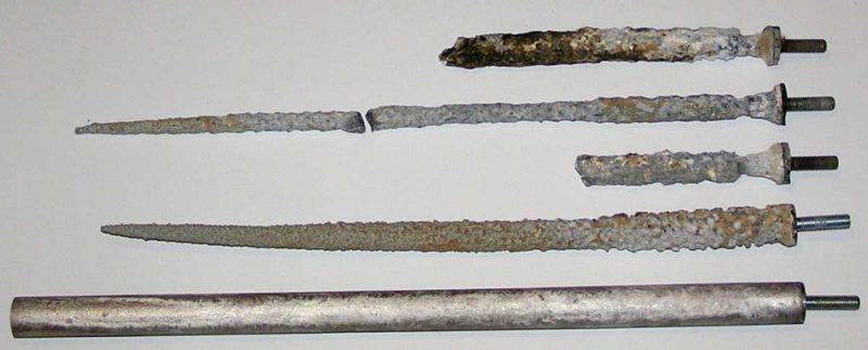 Чистка водонагревателя анод